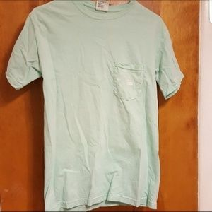 Comfort Colors William and Mary Teal Pocket Tee